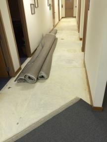 Grace Gospel Chapel | Richmond, Virginia. Commercial Carpet and Tile Installation. © Rockbridge Flooring Professionals, LLC