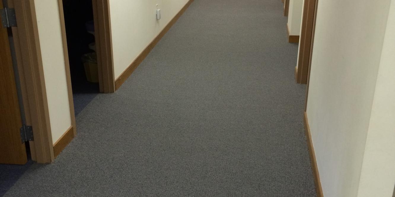 Grace Gospel Chapel | Richmond, Virginia. Commercial Carpet. © Rockbridge Flooring Professionals, LLC