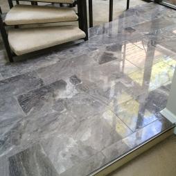 Silver Fantasy Foyer Rockbridge Flooring Professionals Llc